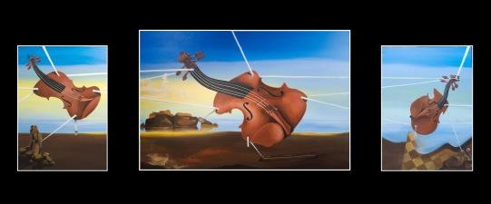 Violin Landscape