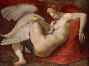 Υπό την άδεια Κοινό Κτήμα μέσω Wikimedia Commons - https://commons.wikimedia.org/wiki/File:Leda_-_after_Michelangelo_Buonarroti.jpg#/media/File:Leda_-_after_Michelangelo_Buonarroti.jpg